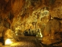 Le Grotte di Pastena - Interno vista frontale